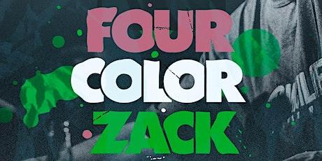 Live Performance by Four Color Zack at rácket Wynwood billets