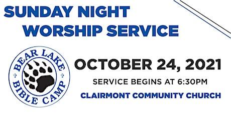 Sunday Night Worship Service presented by Bear Lake Bible Camp tickets