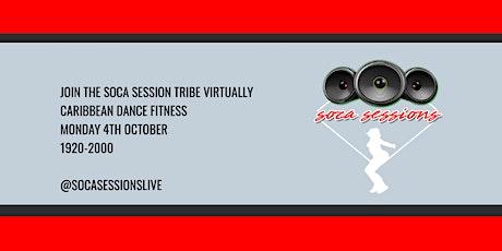 SOCA SESSIONS: Caribbean Dance Fitness Virtual tickets