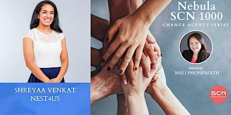 Shreyaa Venkat - Change Agent Interview tickets