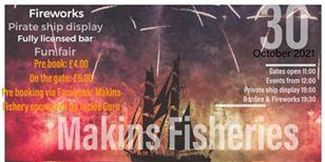 Makins  Fisheries Spec'Tackler' tickets