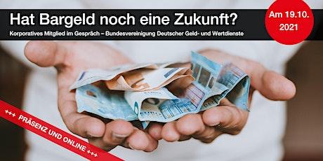 Hat Bargeld noch eine Zukunft? – Die BDGW zu Gast im FPC tickets