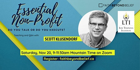 Essential Non-profit with Scott Klusendorf tickets