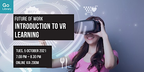 Introduction to VR Learning | Future of Work tickets