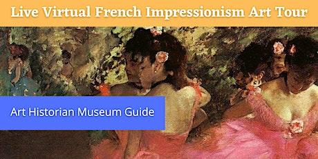 Online French Impressionism  Art Tour tickets