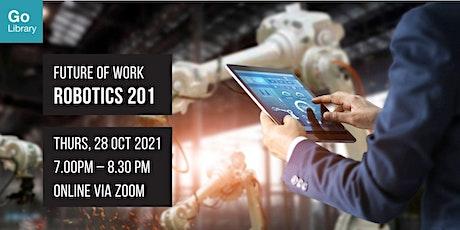 Robotics 201 | Future of Work tickets
