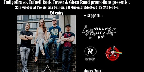 IndigoBravo, Tufnell Rock Tower & Ghost Road promotions present: Aren Drift tickets