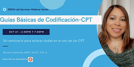 Guías Básicas de Codificación para laboratorios clínicos: CPT biglietti