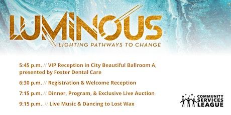 Luminous - Lighting Pathways to Change tickets