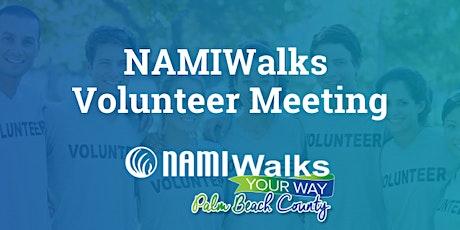 2021 NAMIWalks Volunteer Meeting tickets