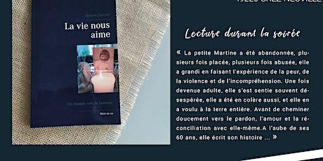 """Lecture et Témoignage """"La Vie Nous Aime"""" avec Martine Gulvout billets"""