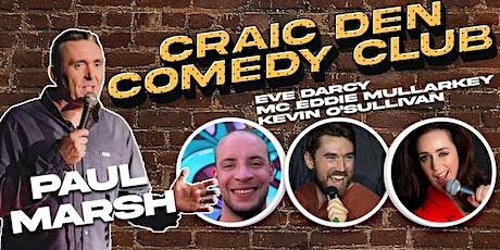 Craic Den Comedy Club - October 6 tickets