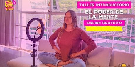 """""""El Poder de la Mente"""" -Taller de Meditación Online y Gratuito para jóvenes entradas"""