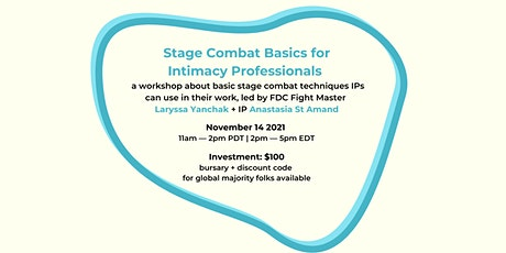 Stage Combat Basics for Intimacy Professionals tickets