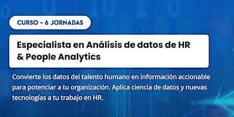 Curso: Análisis de datos de HR & People Analytics tickets