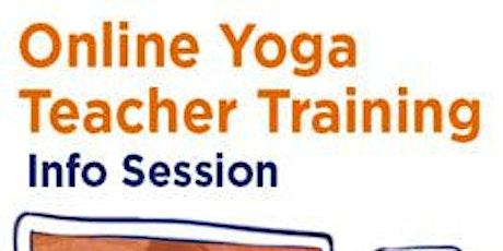 Yoga Teacher Training with Jai and Syama  INFO SESSION tickets