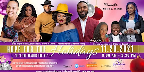 Hope for the Holidays 2021 tickets