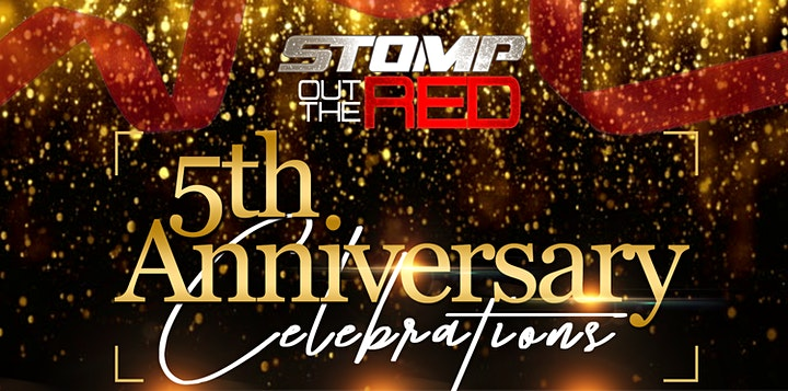 5TH Anniversary - Stomp Out The Red - Community Resource & Business Expo image