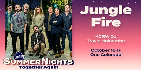 RESCHEDULED: KCRW's Summer Nights at One Colorado with Jungle Fire tickets