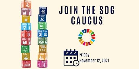 SDG Caucus Meeting tickets