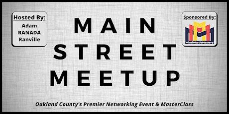 Main Street Meetup tickets