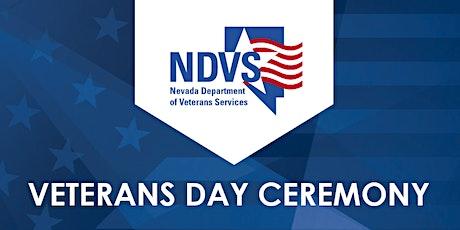 2021 Veterans Day Ceremony tickets