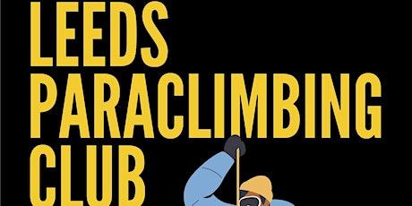 Leeds Paraclimbing Club October 2021 tickets