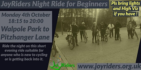 Beginners Bike Ride: Walpole Park to Pitzhanger Lane tickets