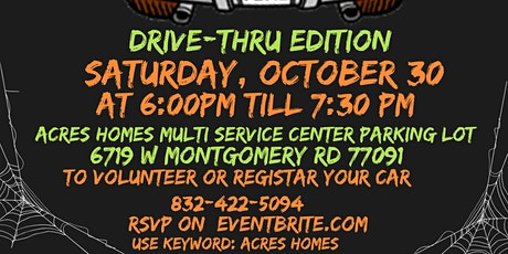 2021 Acres Homes Trunk Or Treat (Drive Thru) tickets
