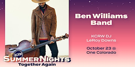 RESCHEDULED: KCRW's Summer Nights at One Colorado with Ben Williams Band tickets