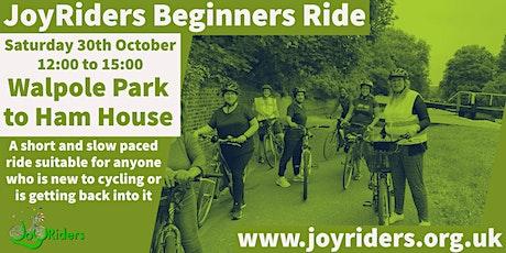 Beginners Bike Ride: Walpole Park to Ham House tickets