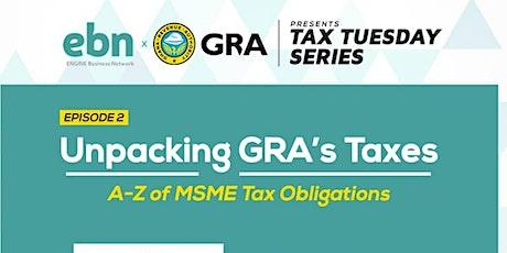 Tax Tuesdays - Webinar Series tickets