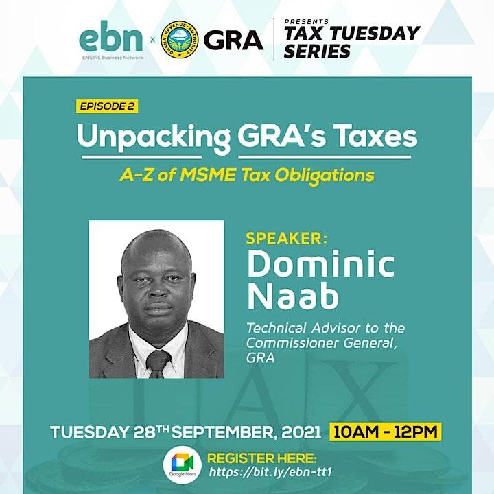 Tax Tuesdays - Webinar Series image