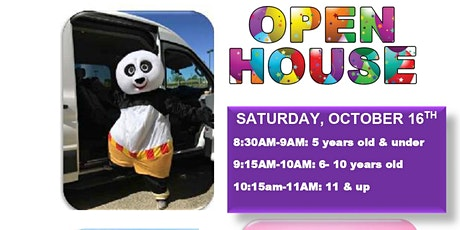 OPEN HOUSE & FAMILY FUN DAY! tickets