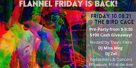 Flannel Friday: October @ The Bird Cage tickets