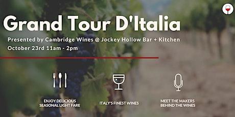 Grand Tour D'Italia tickets