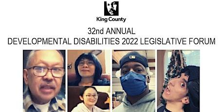 2022 King County Developmental Disabilities Legislative Forum tickets