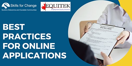 Best Practises for Online Applications tickets