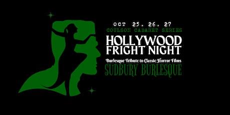Sudbury Burlesque Show: HOLLYWOOD FRIGHT NIGHT tickets