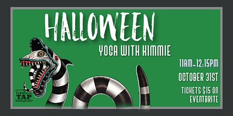 Halloween Yoga with Kimmie (10/31) tickets