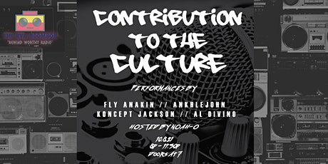 The RVA Boombox   Contribution to the Culture Hip-Hop Event tickets