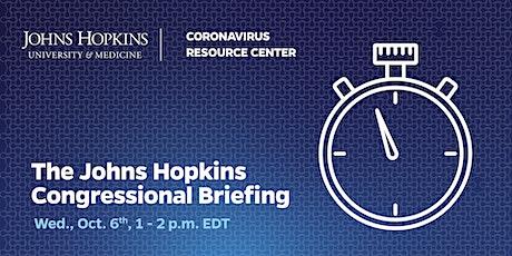 Johns Hopkins Coronavirus Resource Center - Congressional Briefing tickets