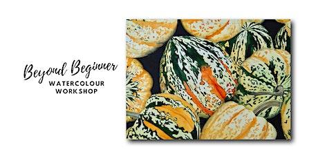 Squash - Beyond Beginner Watercolour Workshop tickets