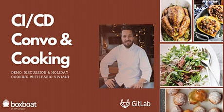 GitLab CI/CD + Celebrity Chef Cooking tickets