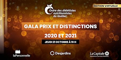 GALA PRIX ET DISTINCTIONS 2020-2021 billets