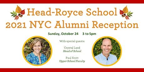 2021 Head-Royce School NYC Alumni Reception tickets