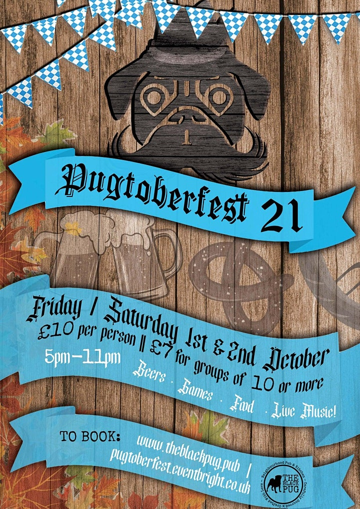 Pugtoberfest @ The Black Pug, Warwick image