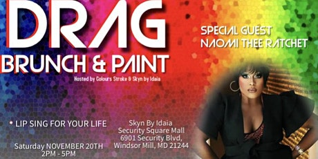 Drag Brunch & Paint tickets