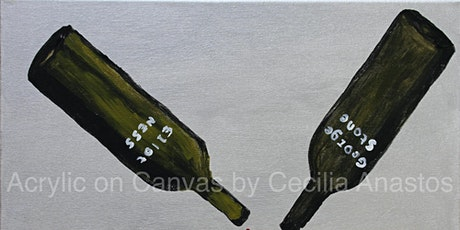 Wine Fine Art at Cecilia Anastos Art Studio tickets