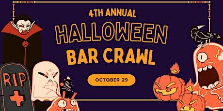 4th Annual Halloween Bar Crawl! tickets